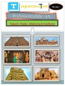 History and Culture of Tamil Nadu - Tamil Nadu PCS Free Notes